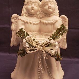 Growth  Angels Candlestick Holder